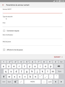 Samsung Galaxy Tab A 9.7 - E-mail - Configuration manuelle - Étape 14