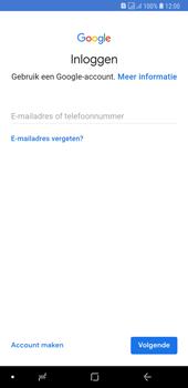 Samsung galaxy-a7-dual-sim-sm-a750fn - Applicaties - Account aanmaken - Stap 5