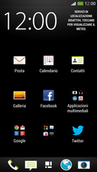 HTC One Mini - E-mail - configurazione manuale - Fase 3