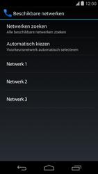 LG D821 Google Nexus 5 - Netwerk - Handmatig netwerk selecteren - Stap 11