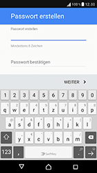 Sony Xperia XZ - Apps - Konto anlegen und einrichten - 13 / 22