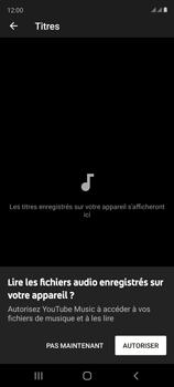Samsung Galaxy S20 FE - Photos, vidéos, musique - Ecouter de la musique - Étape 6