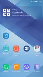 Samsung Galaxy A5 (2017) - Android Nougat - Startanleitung - Installieren von Widgets und Apps auf der Startseite - Schritt 11