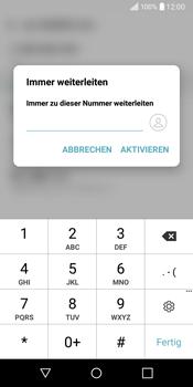 LG Q6 - Anrufe - Rufumleitungen setzen und löschen - Schritt 9