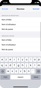 Apple iPhone X - iOS 13 - E-mail - Configuration manuelle - Étape 41