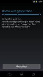 Sony Xperia Z1 Compact - Apps - Konto anlegen und einrichten - 18 / 22