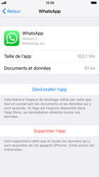 Apple iPhone 6 - iOS 11 - Applications - Comment désinstaller une application - Étape 6