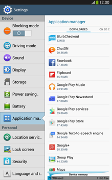 Samsung Galaxy Tab 3 8-0 LTE - Applications - How to uninstall an app - Step 5