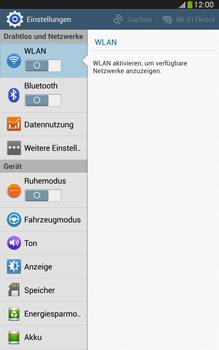 Samsung Galaxy Tab 3 8-0 LTE - Ausland - Auslandskosten vermeiden - 6 / 9