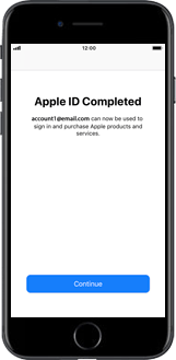 Apple iPhone X - Applications - Setting up the application store - Step 20