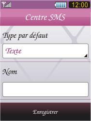 Samsung S7070 Diva - SMS - Configuration manuelle - Étape 9