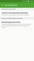 Samsung Galaxy S6 - Anrufe - Anrufe blockieren - 7 / 12