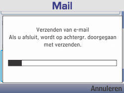 Nokia Asha 210 - E-mail - E-mails verzenden - Stap 19