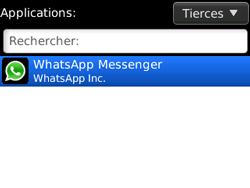 BlackBerry curve 3G - Applications - Supprimer une application - Étape 5