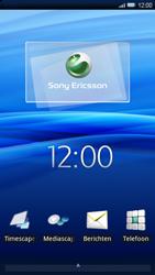 Sony Ericsson Xperia X10 - e-mail - hoe te versturen - stap 1