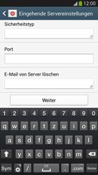 Samsung Galaxy S 4 LTE - E-Mail - Manuelle Konfiguration - Schritt 10