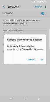 Samsung Galaxy S8 - Bluetooth - Collegamento dei dispositivi - Fase 8