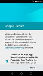 Huawei P8 - Apps - Konto anlegen und einrichten - Schritt 15
