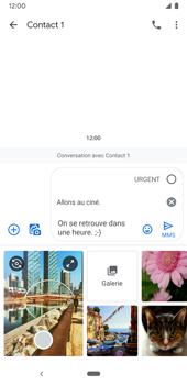 Google Pixel 3a - Contact, Appels, SMS/MMS - Envoyer un MMS - Étape 11