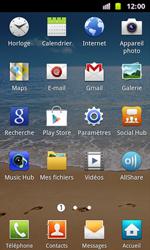 Samsung I8160 Galaxy Ace II - E-mail - envoyer un e-mail - Étape 2