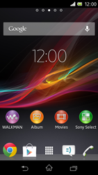 Sony C1905 Xperia M - Internet - Manual configuration - Step 1