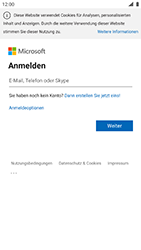 Nokia 8 - Android Pie - E-Mail - 032c. Email wizard - Outlook - Schritt 8
