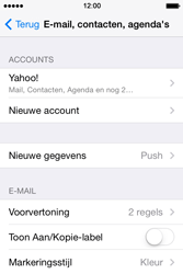 Apple iPhone 4 met iOS 7 - E-mail - 032b. Email wizard - Yahoo - Stap 11