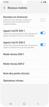 Samsung Galaxy A40 - Réseau - utilisation à l'étranger - Étape 9
