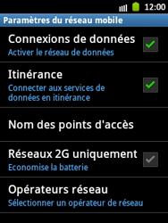 Samsung Galaxy Pocket - Internet et roaming de données - Désactivation du roaming de données - Étape 6