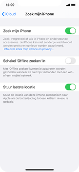 Apple iPhone XS - iOS 13 - Toestel - stel