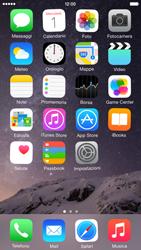 Apple iPhone 6 iOS 8 - Operazioni iniziali - Personalizzazione della schermata iniziale - Fase 3