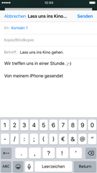 Apple iPhone 6 - E-Mail - E-Mail versenden - 1 / 1
