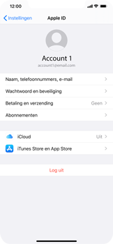 Apple iPhone XS Max - iOS 13 - toestel resetten - back-up maken met jouw account - stap 10