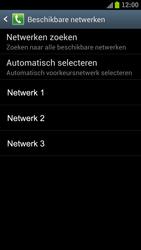 Samsung I9300 Galaxy S III - Netwerk - gebruik in het buitenland - Stap 11