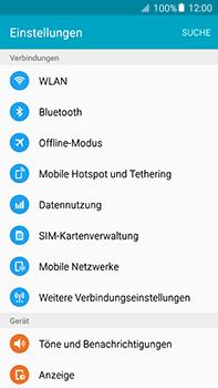 Samsung Galaxy A8 - WiFi - WiFi-Konfiguration - Schritt 4