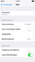 Apple iPhone SE - iOS 10 - E-mail - Account instellen (IMAP zonder SMTP-verificatie) - Stap 30