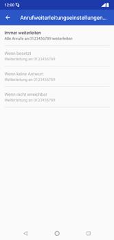 Nokia 6.1 Plus - Anrufe - Rufumleitungen setzen und löschen - Schritt 13