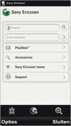 Sony Ericsson U8i Vivaz Pro - Internet - hoe te internetten - Stap 3