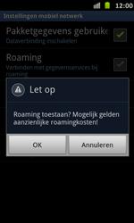 Samsung I9070 Galaxy S Advance - Internet - Internet gebruiken in het buitenland - Stap 9