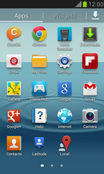 Samsung Galaxy S III Mini - Applications - How to uninstall an app - Step 3