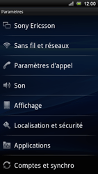 Sony Xperia Ray - Messagerie vocale - Configuration manuelle - Étape 4