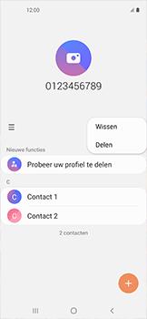 Samsung galaxy-xcover-pro-sm-g715fn - Contacten en data - Contacten overzetten via Bluetooth - Stap 5