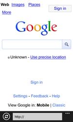 Nokia Lumia 820 / Lumia 920 - Internet and data roaming - Using the Internet - Step 5