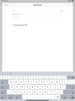 Apple ipad-pro-12-9-inch-2018-model-a1895 - E-mail - Bericht met attachment versturen - Stap 4