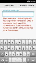 Huawei Ascend Y550 - SMS - configuration manuelle - Étape 6