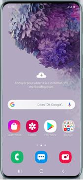 Samsung Galaxy S20 Plus 5G - Téléphone mobile - Comment effectuer une réinitialisation logicielle - Étape 2