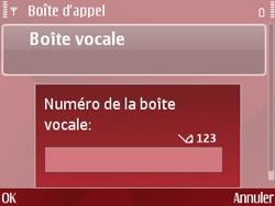 Nokia E63 - Messagerie vocale - Configuration manuelle - Étape 6