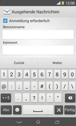 Sony Xperia E1 - E-Mail - Konto einrichten - Schritt 13