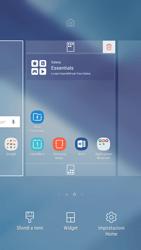 Samsung Galaxy A5 (2017) - Android Nougat - Operazioni iniziali - Installazione di widget e applicazioni nella schermata iniziale - Fase 4
