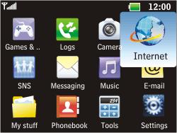 LG C360 Golf - Internet - Internet browsing - Step 2